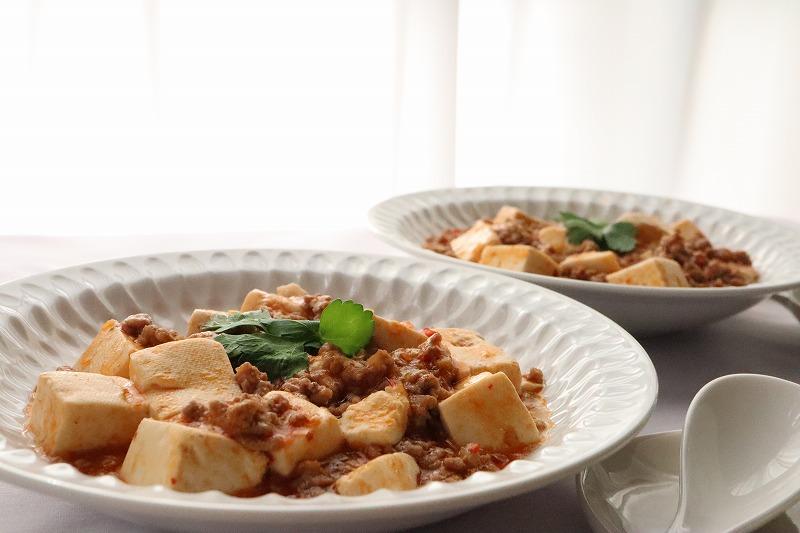 マーボー豆腐のアップ写真