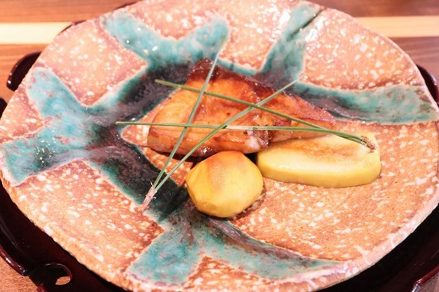 懐石料理の焼き物