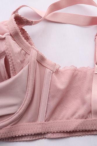 DHC【下垂離れ胸対策ブラ】の脇パネルの部分のアップ