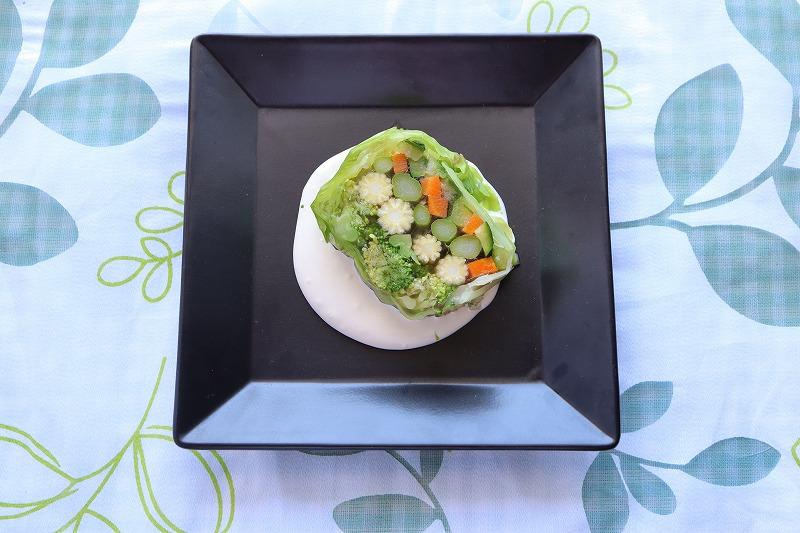 野菜のテリーヌの完成品の全体写真