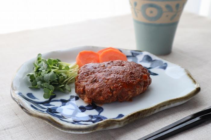 豆腐ハンバーグの完成品のアップ写真