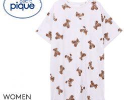ジェラートピケ製品・クマのシャツ